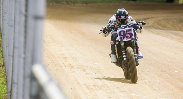 J.D. Beach claimed his first Peoria TT triumph Saturday afternoon.