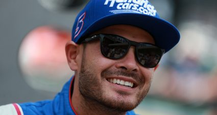 Martinsville Cup Series Pole Belongs To Larson