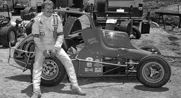 Robin MIller didn't just report on racing, he also raced himself in the 1970s and 1980s. (Stan Kalwasinski Photo)