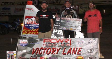 Kyle Jones Wins POWRi Tilt At Creek County