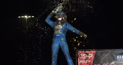 Grant Holds Lead In Mike Curb Super License Battle
