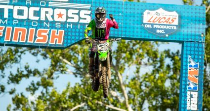 Tomac Snaps Drought During Ironman National