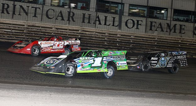 The Lucas Oil Late Model Knoxville Nationals will pay $50,000 to the winner this year. (Mike Ruefer Photo)