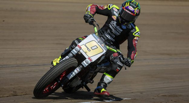 Jared Mees rolled to his sixth victory on the Springfield Mile Sunday.