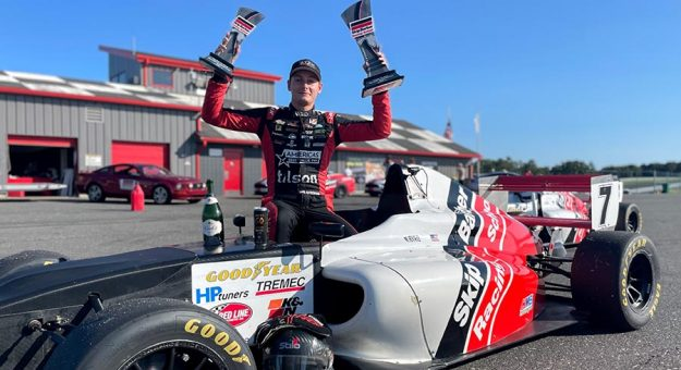 Nathan Byrd earned a win and a podium finish last week at New Jersey Motorsports Park.