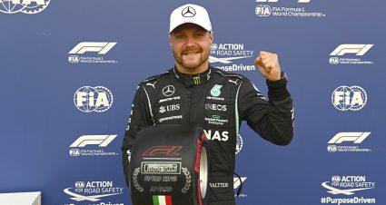 Bottas Nabs Pole For Monza Sprint Race