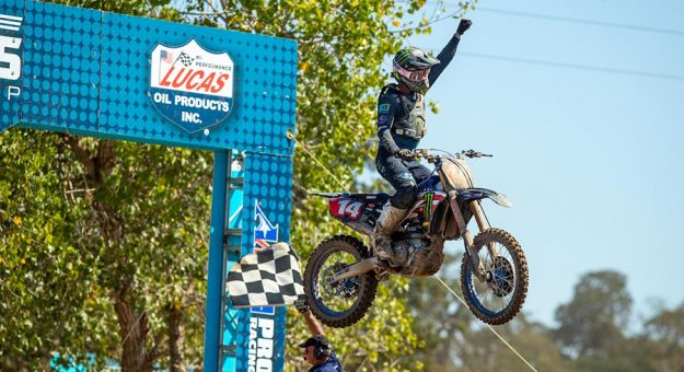 Dylan Ferrandis won for the sixth time this year on Saturday afternoon. (Align Media Photo)