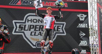 Gagne Lays Claim To MotoAmerica Superbike Crown