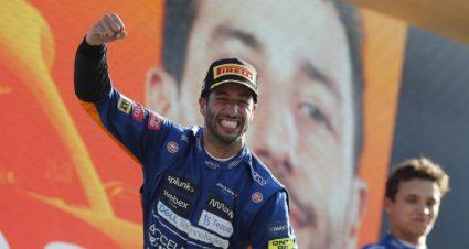 Ricciardo & McLaren Conquer Italy