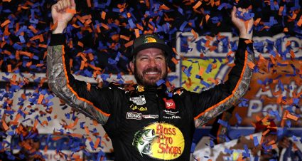 Truex Secures Pole For Bristol Cup Series Race