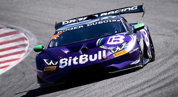 Richard Antinucci en route to victory at WeatherTech Raceway Laguna Seca.
