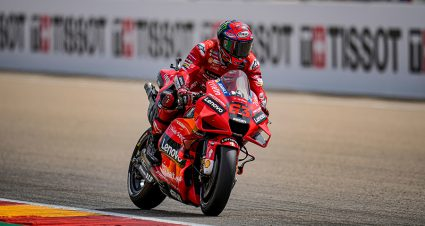 Bagnaia Breaks Through At MotorLand Aragon