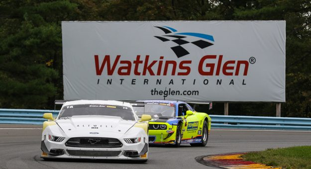 Chris Dyson rolled to his second-straight Trans-Am Series win on Sunday at Watkins Glen Int'l.