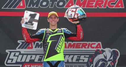 Kelly Secures MotoAmerica Supersport Title