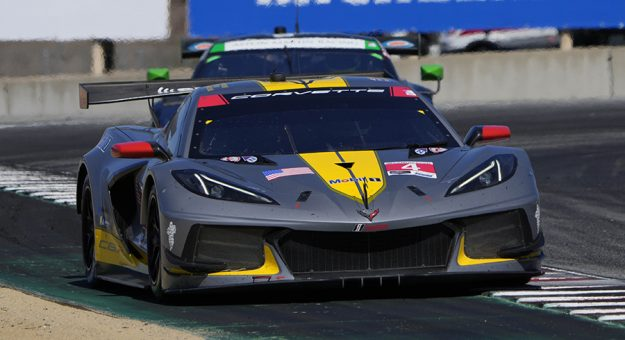 Nick Tandy and Tommy Milner earned their first full-points victory of the season Sunday in Monterey. (IMSA Photo)