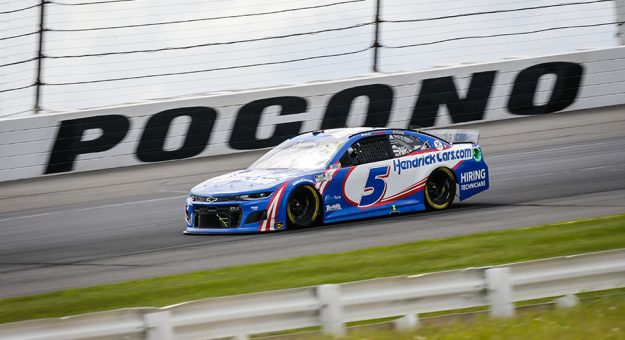 The NASCAR Cup Series will race just once at Pocono Raceway in 2022. (HHP/Alan Marler Photo)
