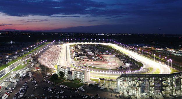 An overhead look at World Wide Technology Raceway.