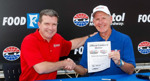 Food City has extended its longstanding partnership with Bristol Motor Speedway.