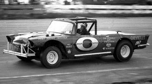 """Conan """"Moose"""" Myers captured the first open competition Tony Bettenhausen Memorial race in 1965 and would go on to become the event's first three-time winner.  (Vince Mayer Photo)"""