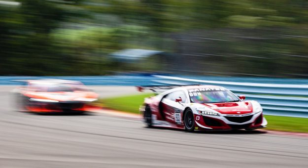 The Fanatec GT World Challenge series was in action Saturday at Watkins Glen Int'l.