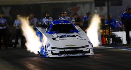 John Force Roars To Early No. 1 At zMAX