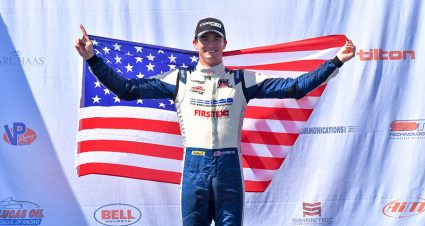 Kirkwood Eases To Eighth Indy Lights Score