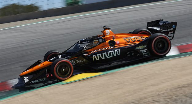 Arrow Electronics have renewed its sponsorship of McLaren in the NTT IndyCar Series and Formula 1. (IndyCar Photo)