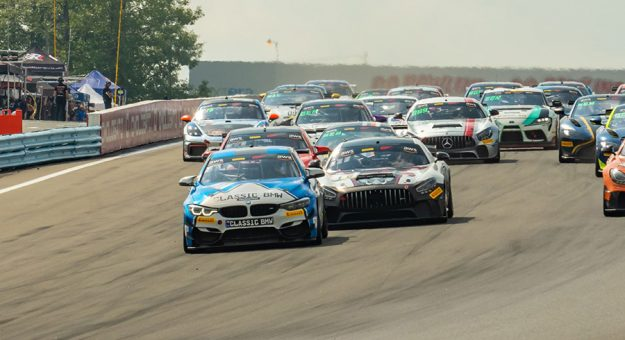 Action during Sunday's GT America feature at Watkins Glen Int'l.