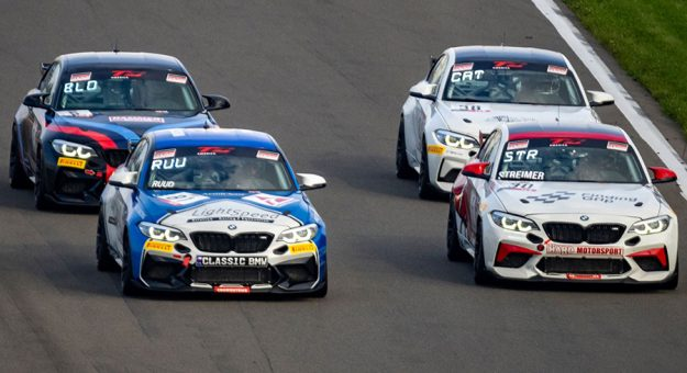 Drivers battled for supremacy during Sunday's TC America feature at Watkins Glen Int'l.
