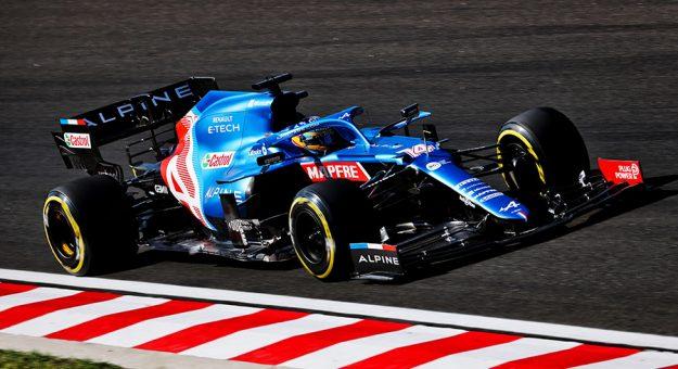 Fernando Alonso has been a leading figure on the Alpine F-1 team this year alongside teammate Esteban Ocon.