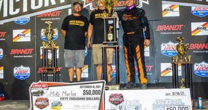 Marlar Is $50,000 Knoxville Winner