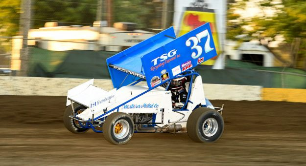 Mitchell Faccinto is expected to be among the NARC-King of the West Sprint Car Series competitors this weekend at Keller Auto Speedway in Hanford, Calif. (Paul Trevino Photo)