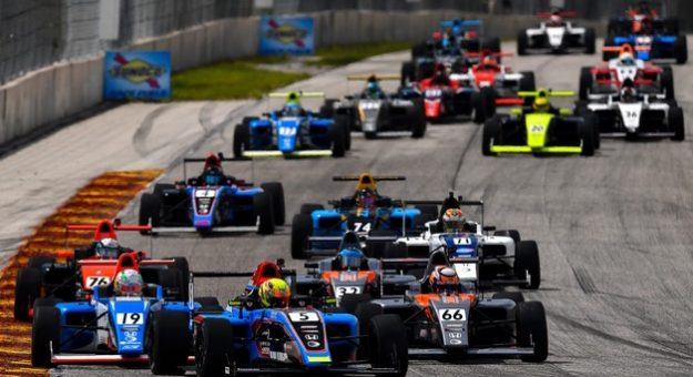 The schedules for the Formula Regional Americas Championship and Formula 4 United States Championship have been set for 2022.