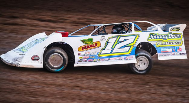 Ashton Winger will try to defend his home turf on Oct. 2 at Senoia Raceway. (Jacy Norgaard Photo)