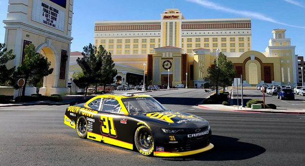 Ty Dillon will drive for Jordan Anderson Racing this weekend at Las Vegas Motor Speedway.