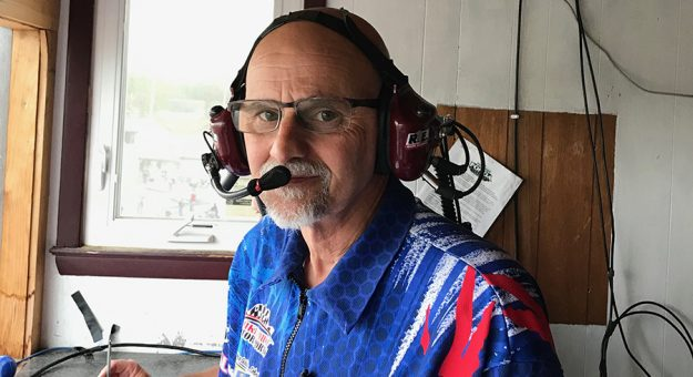 Mike Emhof has a lot of jobs, including managing the Patriot Sprint Tour.