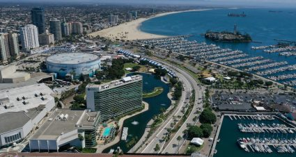 Herta Leads Practice At Long Beach