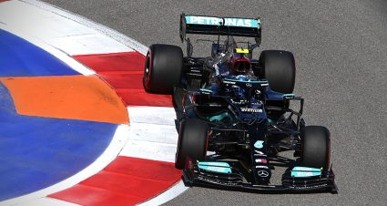 Bottas Paces Russian Grand Prix Practice