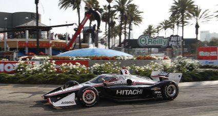 Newgarden Speeds To Long Beach Pole