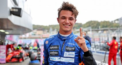 Lando Norris Soars To First Pole In Russia