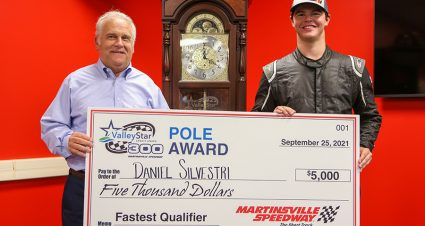 Silvestri Surprises With Martinsville Late Model Pole