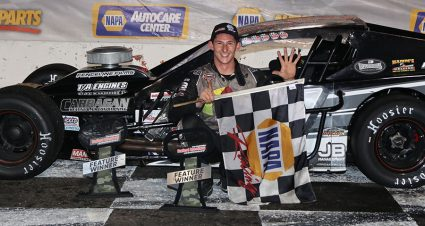 Kopcik Thrills With Another Stafford SK Modified Win