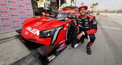 Nasr Puts Whelen Cadillac On Pole In Long Beach