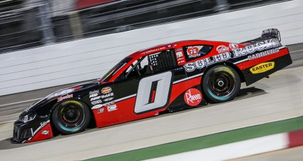 Pembelton Stuns Field, Collects Martinsville Grandfather Clock