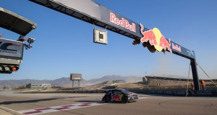 Hansen Hustles In Nitro Rallycross