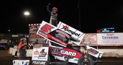 Timms Tops 410 Finale At Huset's