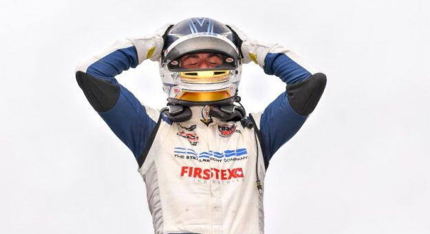 Kyle Kirkwood claimed the Indy Lights championship on Sunday afternoon at the Mid-Ohio Sports Car Course.