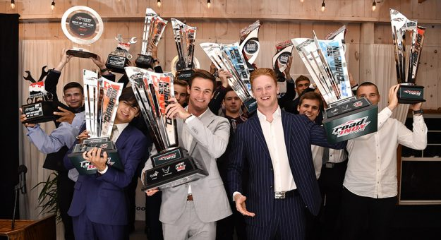 Road to Indy champions and award winners were honored Sunday night during a post-season celebration.