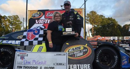 McCaskill Snaps CARS Tour Drought At Home Track