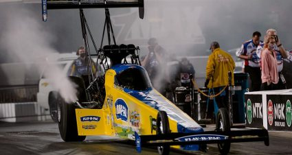 Brittany Force Rockets To Bristol Dragway Record